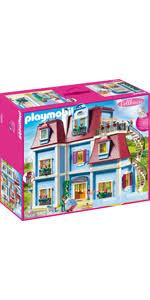 playmobil dollhouse 70205 mein großes puppenhaus mit