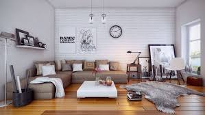 Cheap Living Room Decorations by Cozy White Apartment Living Room Ideas With Sectional Sofa And