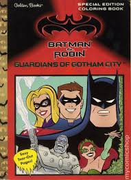 Batman And Robin Guardians Of Gotham City Special Edition Coloring Book DC 1997 Golden Books