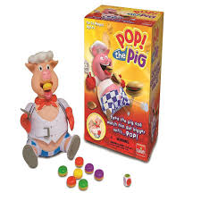 Pop The Pig Game Family Fun Kids Toy Goliath Games Strategy Board Seen Tv