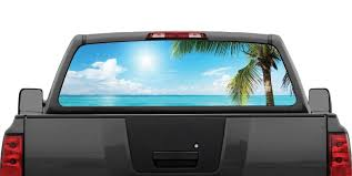 Beach Scene #3 Palm Tree Ocean Rear Window Decal Graphic Truck SUV ... Asirvia Rear Window Decal With Website Tools Store Huge Soaring Bald Eagle Rear Window Decal Decals Sticker 6eagle Vehicle Decals Business Backflash Stickers Any Model Colour Retro Rides Amazoncom Vuscapes 763szd Chevy Black Bkg Truck Allischalmers Back Forum Show Your Back Page 5 Stickers For Trucks Graphic Design Is Easy Jeep Wrangler Jk Usa Flag Alphavinyl Monogrammed 12x18 Aftershock 100 X Personalised Car Sales Vinyl Lets See Them Ford Enthusiasts Forums