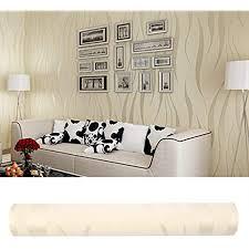 3d wallpaper 10m welle luxus beflockung rolls für home schlafzimmer wohnzimmer tapete wandverkleidung dekor vlies minimalistischen tapeten beige