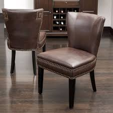 2 Leather Brown Dining Chairs Upholstered Accent Living Chair Leather High Back Chairs Living Room Accent Wingback Hcom Vintage Wing Tufted Brown Or Grey Home Done 2 Ding Upholstered Durable Top Grain Armchair Shop Belleze Extra Overstuffed Contemporary Full Recliner Chesterfield Embroidered Elements Queen Buy Fniture Elegant Appearance Product 10 Funiture Armless With Very Short Wooden Bellagio And Mattress Store 20 Best Of Modern For Guiadokartingeu Ottoman For Sale At 1stdibs