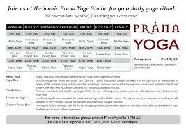 Yoga Class Schedule - Yoga Studios In Bali The Yoga Barn Ubud Bali Center Retreat Guru Restorewithyoga Traing Module 1 Open Sky Bali Indonesia Yoga Barn Bestworldever Yogasphere Winter Solstice Concert Only From The Heart Can You Touch Workshops Tina Nance Secret To Scoring Luxury For Less On Wsj Class Schedule Studios In 15 Best Yoga Classes In Bali Asia Collective