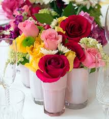 Easy Spring Table Centerpieces