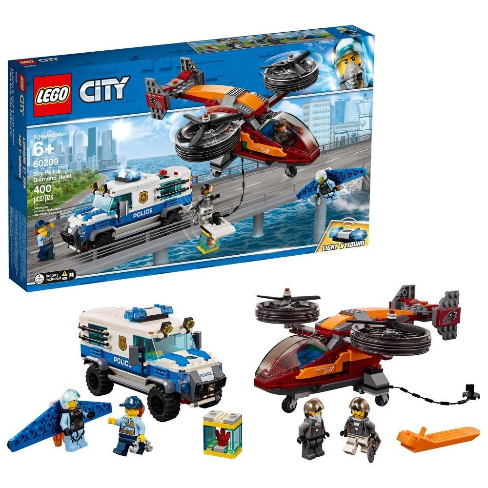 Lego Building Toy, City, Sky Police Diamond Heist