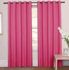 Ruffle Blackout Curtain Panels by Light Pink Ruffle Curtains