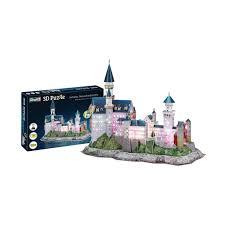 revell 3d puzzle schloss neuschwanstein led edition mit beleuchtung 128 teile ab 10 jahren 00151