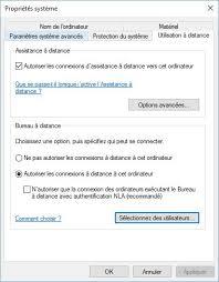 autoriser bureau a distance tutoriel activer le bureau à distance sur pc serveur