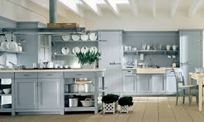 modern industrial kitchen light blue country kitchen country blue