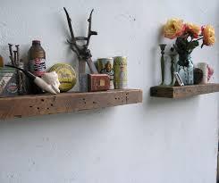 rustic wood floating shelves oak diy rustic wood floating