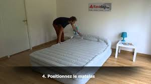 Aerobed Queen Raised Bed With Headboard by Matelas Aerobed Comfort Classic Raised King Youtube