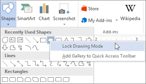 add shapes office support