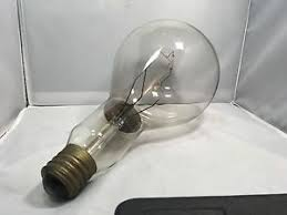 vintage ge light bulb 1000 watt mogul base l steunk