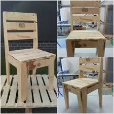 DIY Pallet Chairs For Kids