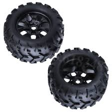 100 Off Road Truck Tires 4Pcs 32 Rubber RC 18 Wheels 150mm For Monster