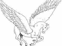 Pegasus Coloring Pageprintablecoloring Pages