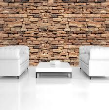 consalnet vliestapete bunte backsteinmauer verschiedene motivgrößen für das büro oder wohnzimmer