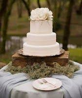 From Inspiration To Reality The Design III Rustic Wedding CakesWhite