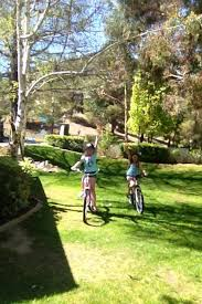 Riding Bikes In The Sprinklers With Tatum