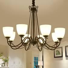 Multiple Chandelier Selling The Nordic Minimalist Dining Room Lights Iron Garden Creative American Study Bedroom ZX152