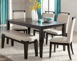 wonderful dining room table sets with bench with black dining room