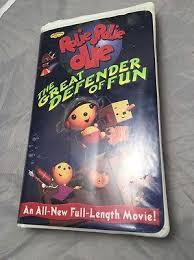 Rolie Polie Olie Halloween Vhs by Disney U0027s Rolie Polie Olie Great Defender Of Fun Vhs Clam Shell