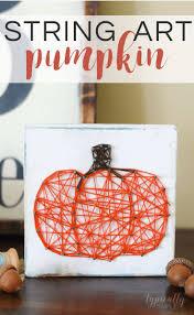 Pinterest Dryer Vent Pumpkins by String Art Pumpkin A Fun Fall Craft Kenarry Ideas For The Home