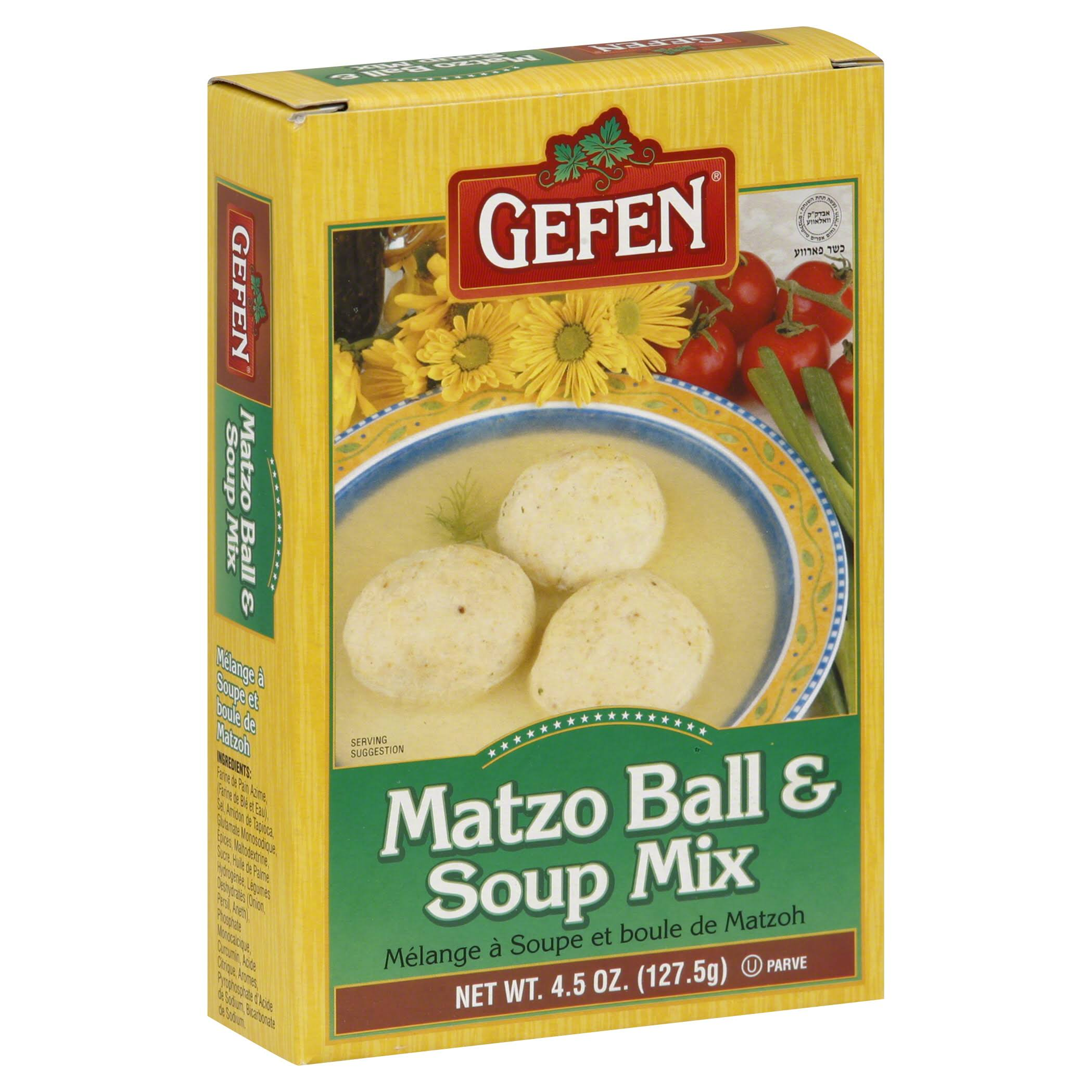 Gefen Matzo Ball & Soup Mix - 4.5 oz