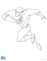 FLASH COLORING PAGE 4