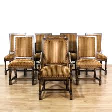 Set Of 8 Walnut Carved Gold & Red Striped Chairs | Traditional ... Armchairs Traditional Modern Ikea Italian Space Saving Fniture Furry White Rug Arched Hood Elegant Bobbin Chair For Classic Armchair Design Ideas Domain Red And Striped With Matching Ottoman Ebth Wingback Tufted Chairs Cheap Burnt Mid Century Leather Accent With Arms Armless Living Spaces Velvet Sofa Web Long And Copper Legs Angle 493 Best Upholstery Ideas Images On Pinterest Slipcovers Decor Beautiful Outdoor Patio Cushions In Stripped