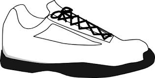 black shoe Clipart
