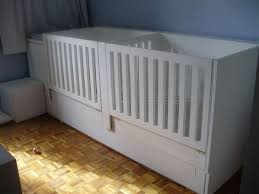 Twin Baby Crib I Wants Something Like This For My Twins New House Has Only 11