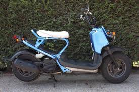 2006 HONDA ZOOMER 50 BLUE FRESH FROM JAPAN ONLY GBP950 RETRO SCOOTER