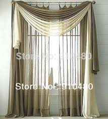 Swag Curtains For Living Room by Stupefying Living Room Valance Curtains Valances Window Treatments