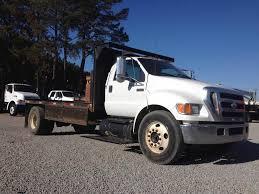 100 650 Ford Truck 2007 F XL Single Axle Flatbed Cummins 59L 260HP