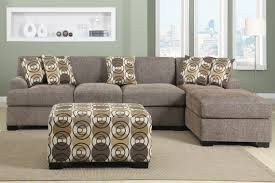Poundex Bobkona Sectional Sofaottoman by Linen Sectional Sofa Oxford Grey Linen Laf Tufted Sectional Sofa
