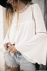 blouse cuisine bell sleeves gladiator sandals the fashion cuisine