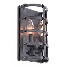rustic sconces wall sconce lighting bellacor