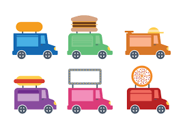 Cute Food Truck Icon Vectro - Download Free Vector Art, Stock ...