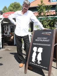 restaurant auf rü kinderverbot spaltet die welt svz de