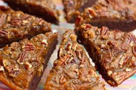 Brownie Pumpkin Pie With A Crunchy Pecan Topping By Oh She Glows Vegan