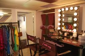 Makeup Vanity Table With Lights Ikea by Makeup Vanity Table For Two With Large Lighted Mirror And Shelf