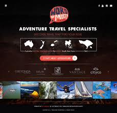 100 Word Of Mouth Bali Playful Modern Travel Agent Web Design For Of Mouth