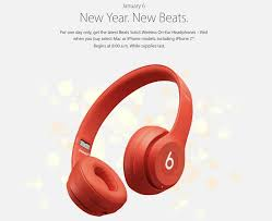 Apple Announces Chinese New Year Event Featuring Free Beats Solo3