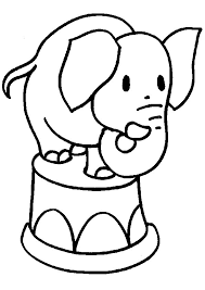 Clip Arts Related To Cute Elephant Coloring Pages Book Area Best Source For