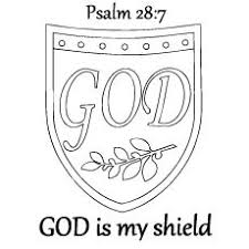 Images Of Photo Albums Shield Faith Coloring Page