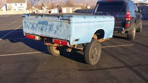 For Sale 76 datsun truck bed trailer
