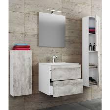 vcm 5 tlg waschplatz badmöbel badezimmer set waschtisch waschbecken schubladen keramik badinos spiegel