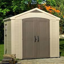 Garden Storage Bq Factor Apex Plastic Shed Departments At Storage